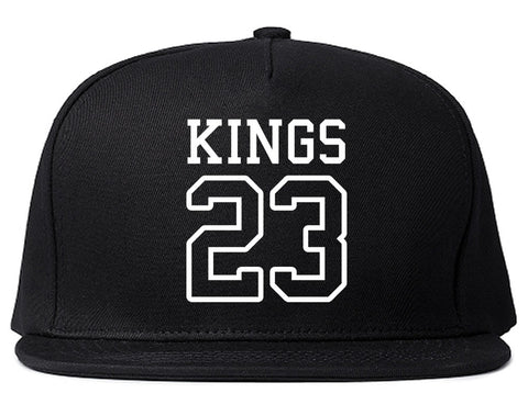 KINGS 23 Jersey Snapback Hat By Kings Of NY