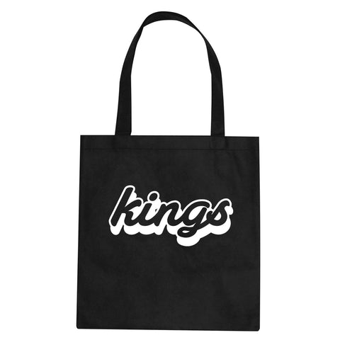 Kings Blue Gradient Logo Tote Bag By Kings Of NY