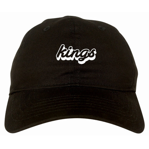 Kings Blue Gradient Logo Dad Hat By Kings Of NY