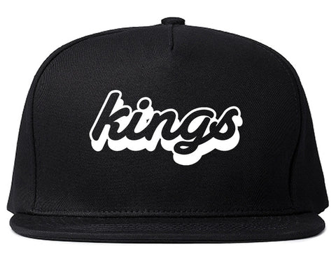 Kings Blue Gradient Logo Snapback Hat By Kings Of NY
