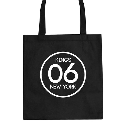 06 Kings Circle Logo Tote Bag by Kings Of NY