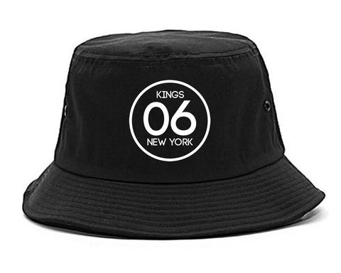 06 Kings Circle Logo Bucket Hat by Kings Of NY