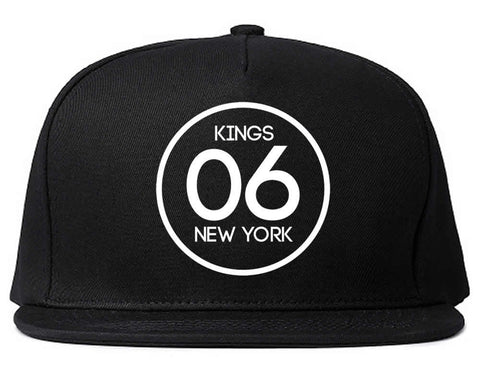 06 Kings Circle Logo Snapback Hat by Kings Of NY