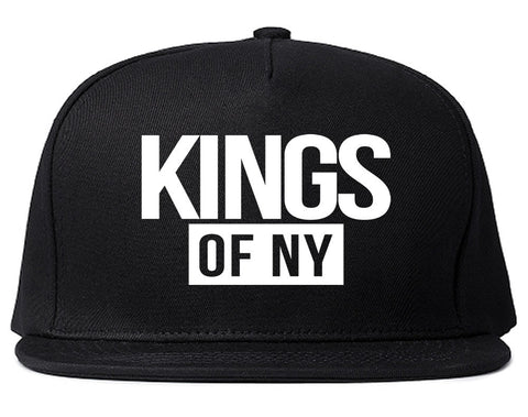Kings Of NY Logo W15 Snapback Hat By Kings Of NY