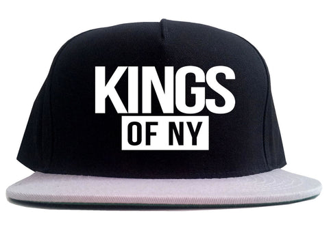 Kings Of NY Logo W15 2 Tone Snapback Hat By Kings Of NY