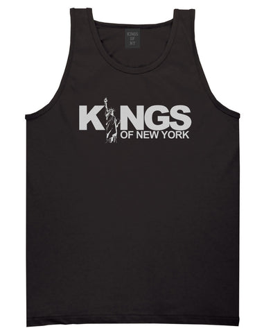 KINGS Lady Liberty Logo Tank Top in Black by Kings Of NY