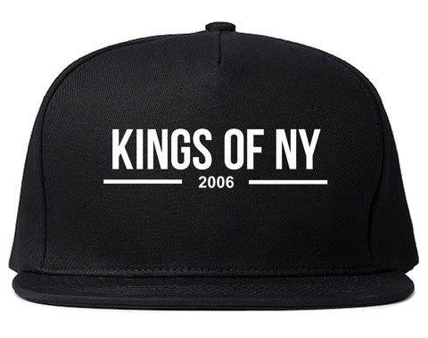 Kings Of NY 2006 Logo Lines Snapback Hat By Kings Of NY