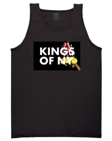 Kings Of NY Gold Medals Tank Top in Black