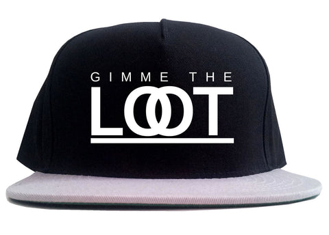 Gimme The Loot  2 Tone Snapback Hat By Kings Of NY