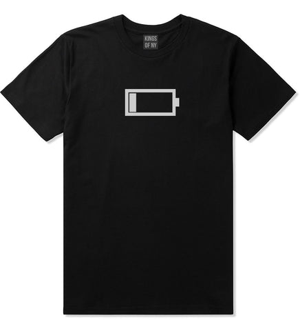 Low Battery Cell Phone Meme Emoji T-Shirt