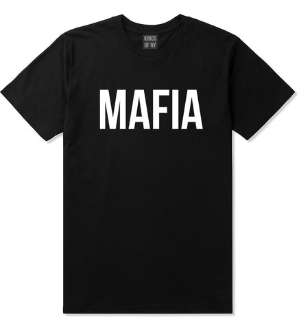 Mafia Junior Italian Mob  T-Shirt in Black By Kings Of NY