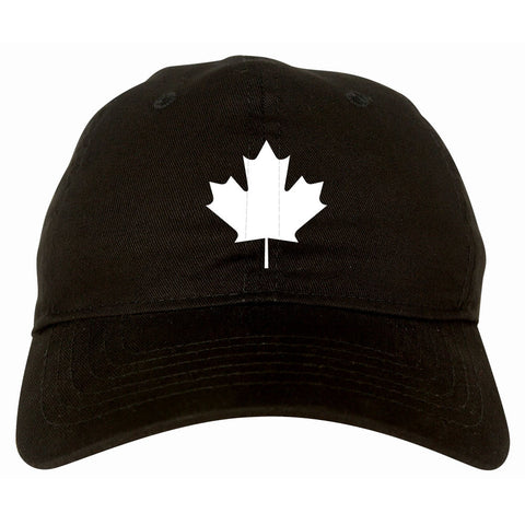 Maple Leaf Dad Hat Cap by Kings Of NY