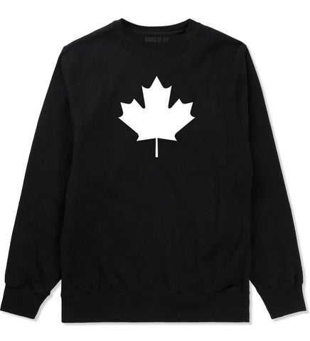 Maple Leaf Crewneck Sweatshirt by Kings Of NY