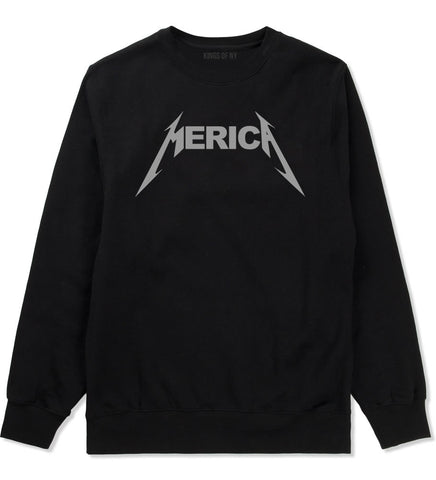 Merica Crewneck Sweatshirt By Kings Of NY