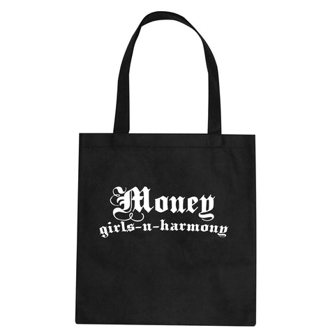 Money Girls And Harmony Tote Bag By Kings Of NY