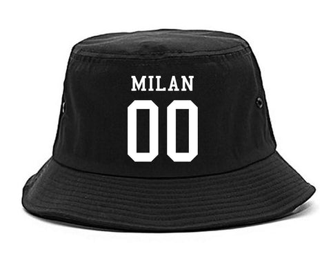 Milan Team 00 Jersey Bucket Hat By Kings Of NY