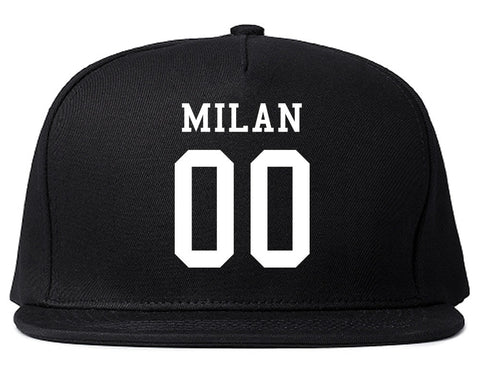 Milan Team 00 Jersey Snapback Hat By Kings Of NY