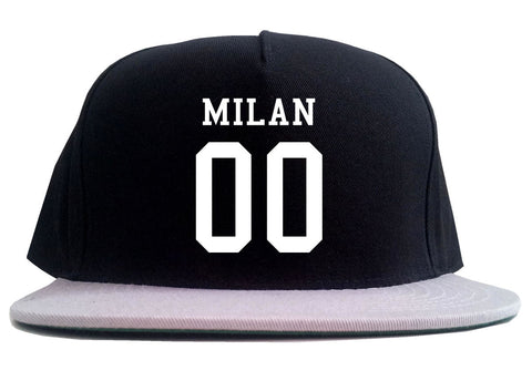 Milan Team 00 Jersey 2 Tone Snapback Hat By Kings Of NY