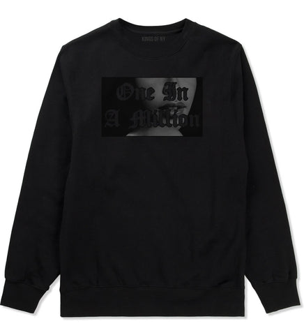 One in a Million Aaliyah Crewneck Sweatshirt By Kings Of NY