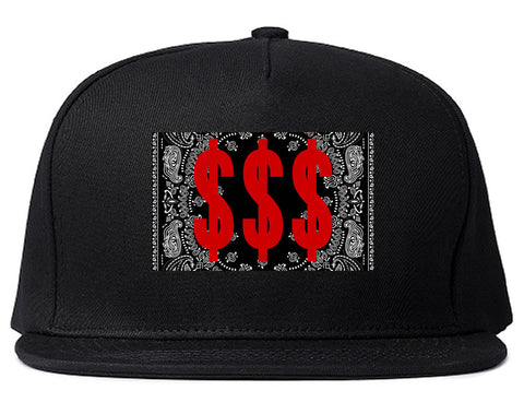 Money Bandana Gang Snapback Hat By Kings Of NY