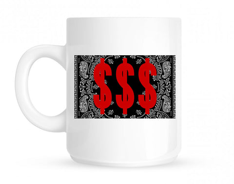 Money Bandana Gang Mug By Kings Of NY
