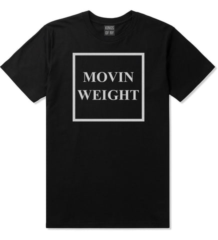 Movin Weight Hustler T-Shirt in Black by Kings Of NY