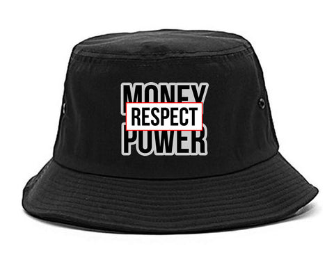 Money Power Respect Bucket Hat By Kings Of NY