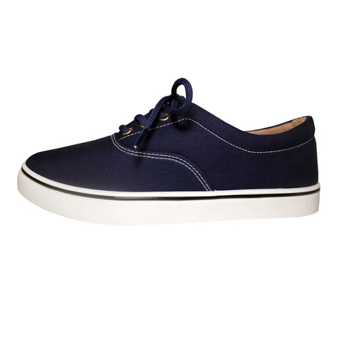 The Classic Canvas Casual Skate Navy Blue Sneakers
