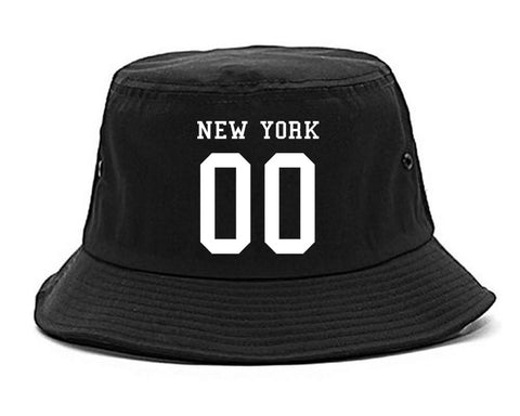 New York Team 00 Jersey Bucket Hat By Kings Of NY