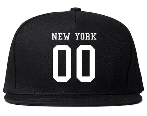 New York Team 00 Jersey Snapback Hat By Kings Of NY
