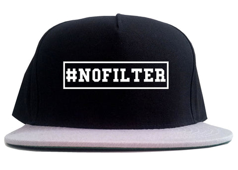 No Filter Selfie 2 Tone Snapback Hat By Kings Of NY
