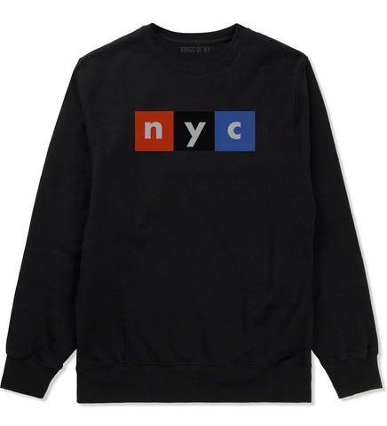 NYC Logo Crewneck Sweatshirt By Kings Of NY