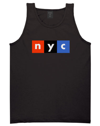 NYC Logo Tank Top By Kings Of NY