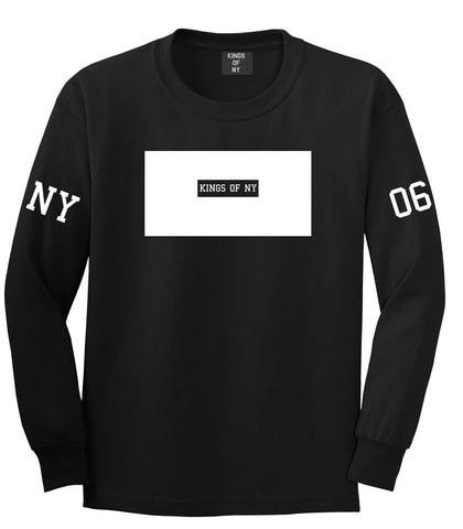 New York Logo 2006 Style Trill Long Sleeve T-Shirt In Black by Kings Of NY