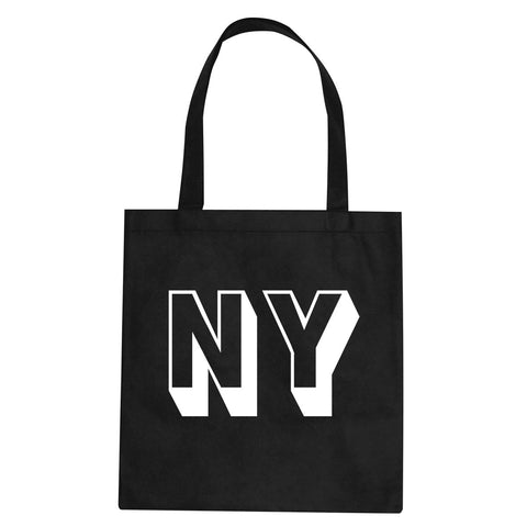 NY Block Letter New York Tote Bag By Kings Of NY
