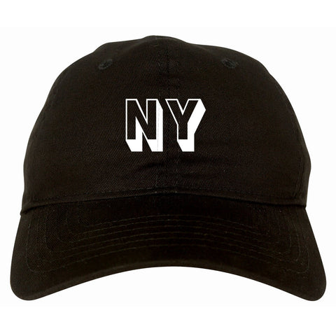 NY Block Letter New York Dad Hat By Kings Of NY
