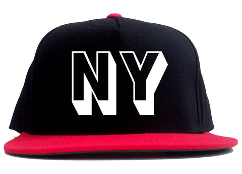 NY Block Letter New York 2 Tone Snapback Hat By Kings Of NY