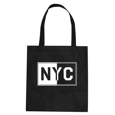NYC Rectangle New York City Tote Bag By Kings Of NY