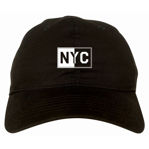 NYC Rectangle New York City Dad Hat By Kings Of NY