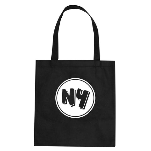 NY Circle Chest Logo Tote Bag By Kings Of NY