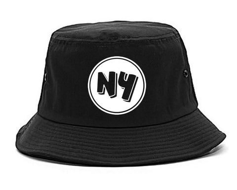 NY Circle Chest Logo Bucket Hat By Kings Of NY