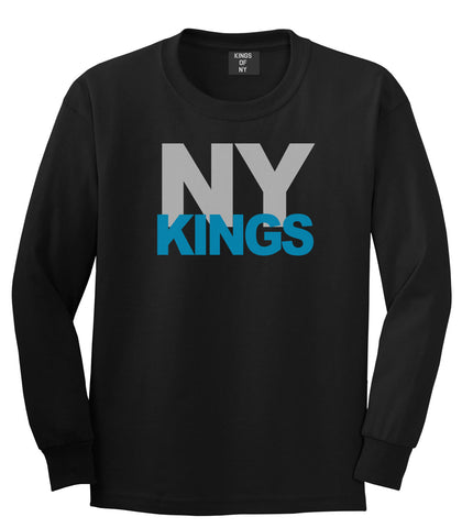 NY Kings Knows Long Sleeve T-Shirt in Black By Kings Of NY