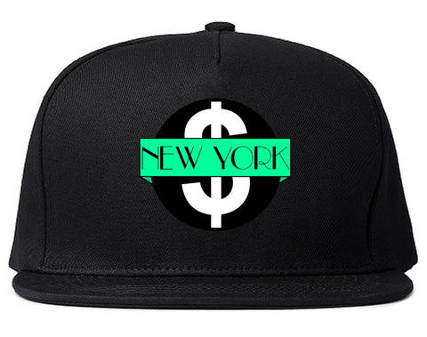 New York Mint Chest Logo Snapback Hat By Kings Of NY