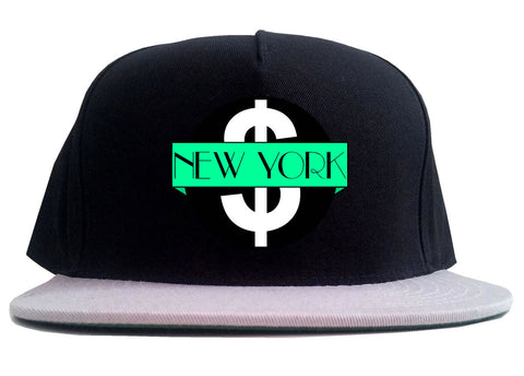 New York Mint Chest Logo 2 Tone Snapback Hat By Kings Of NY