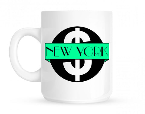 New York Mint Chest Logo Mug By Kings Of NY