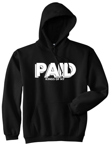 PAID Kings Of NY W15 Pullover Hoodie in Black By Kings Of NY