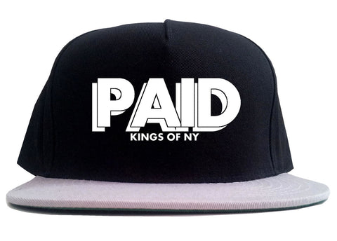 PAID Kings Of NY W15 2 Tone Snapback Hat By Kings Of NY