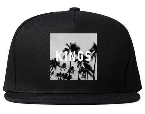 Kings Palm Trees Logo Snapback Hat By Kings Of NY