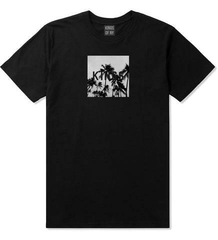 Kings Palm Trees Logo T-Shirt in Black By Kings Of NY