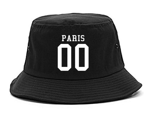 Paris Team 00 Jersey Bucket Hat By Kings Of NY
